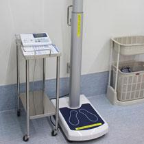 自動身長体重測定器